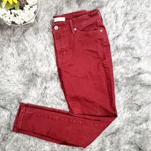 Levi's Red Legging Style Jeans W32 L32